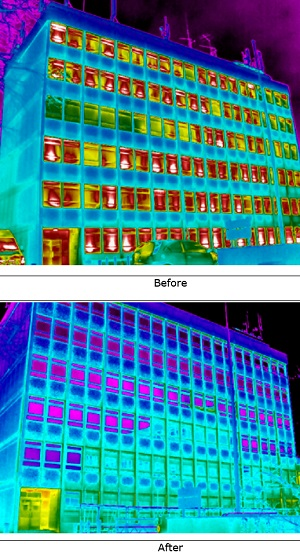 Benefits of a Commercial Building Heat Loss Survey