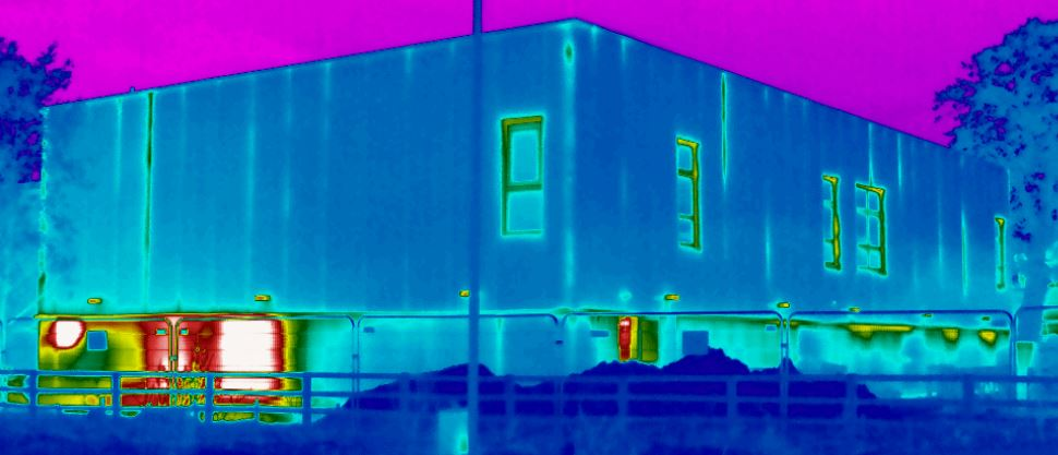 BREEAM Thermographic Survey Hospital