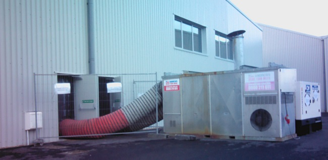 Auxiliary Heating During Heat Loss Inspections in Commercial Properties