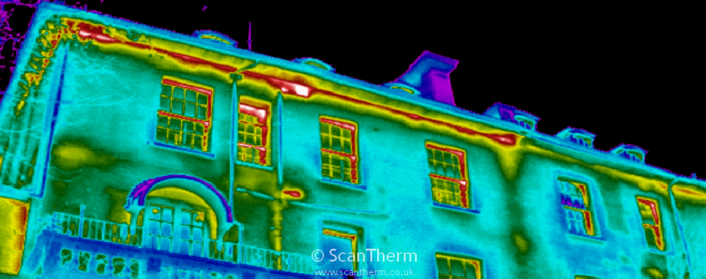 BREEAM Refurbishment Domestic Buildings Thermographic Survey