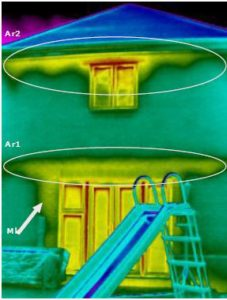 Part L thermographic survey continuity of insulation