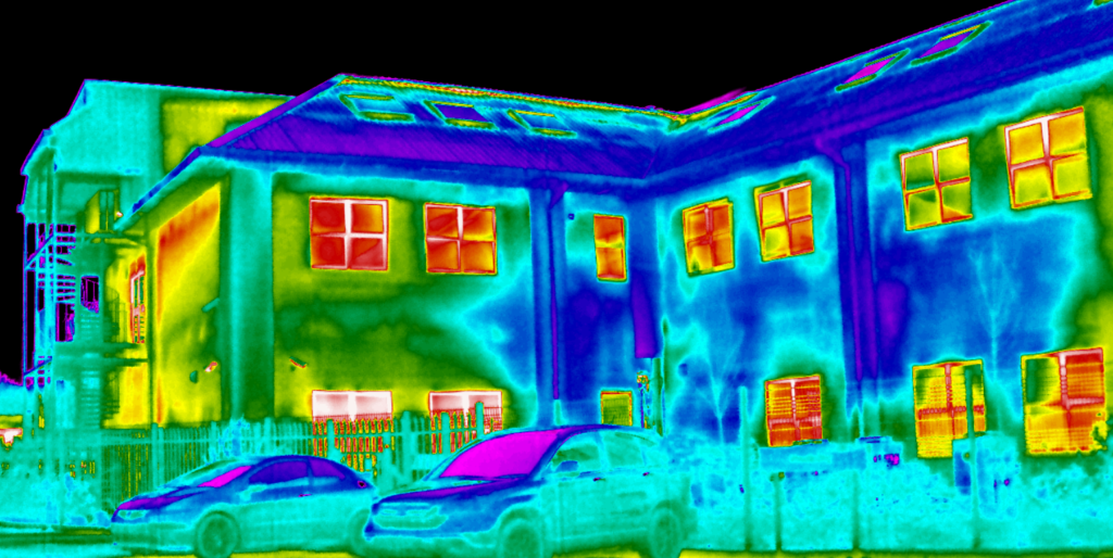 Level 2 Thermal Surveys For Heat Loss In Commercial Buildings