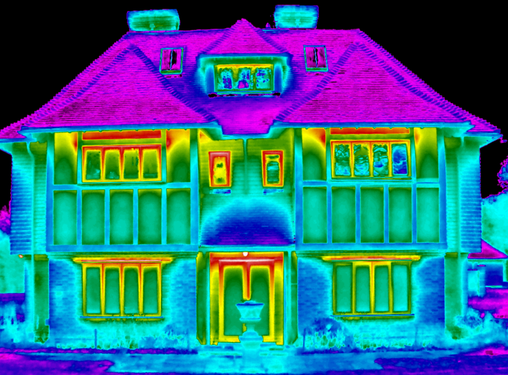 thermographic surveys for the new Home Quality Mark commonly known as HQM